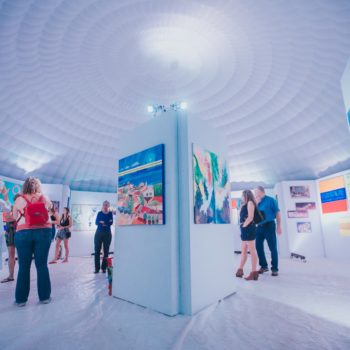 The Igloo - Aruba Art Fair's 2017 Indoor Gallery